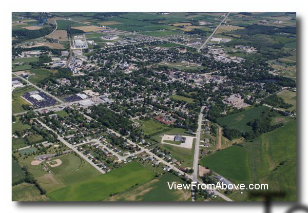 Aerial Photo Chilton, Wisconsin