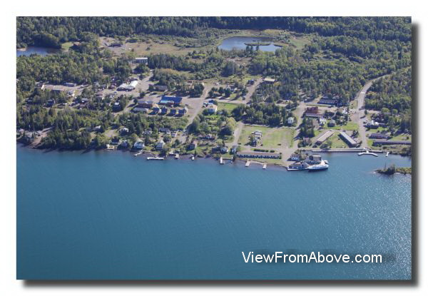 Copper Harbor,  Michigan Aerial Photo