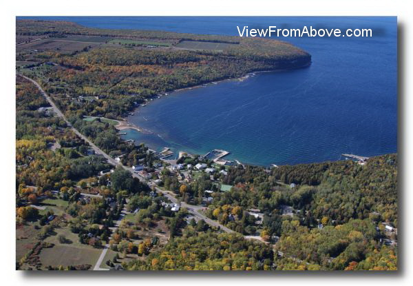 Ellison Bay, Wisconsin  Aerial Photo
