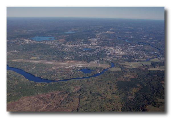 Iron Mountain, Michigan Aerial Photo