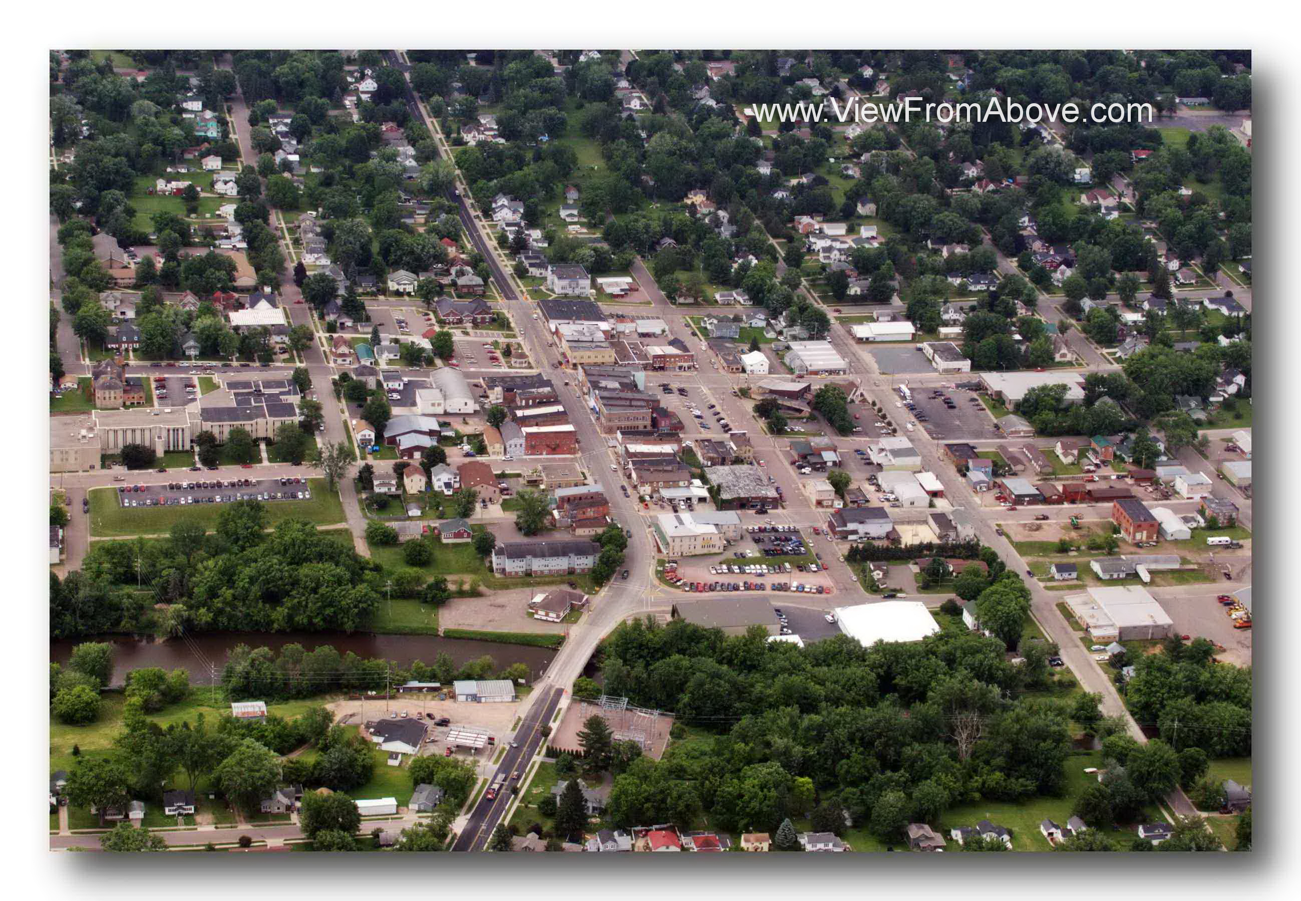 Neillsville, Wisconsin, Aerial Photography