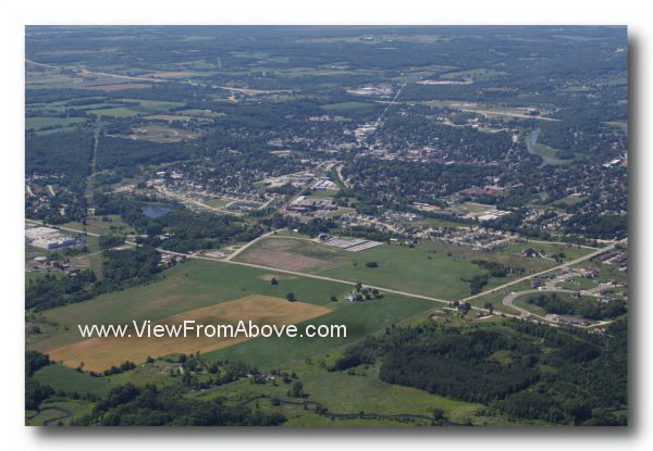 Plymouth Wisconsin Aerial Photography