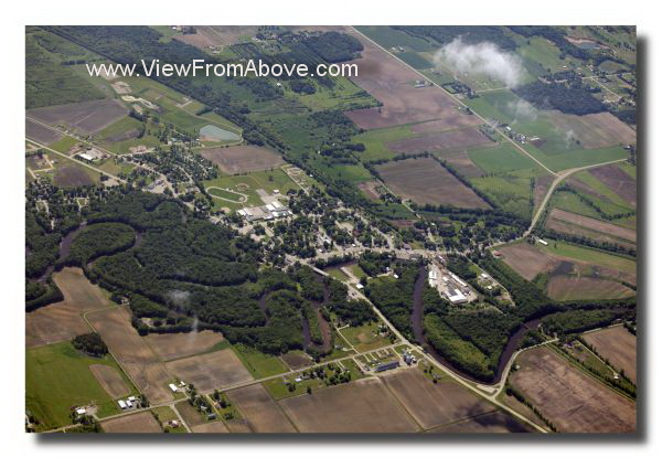 Shiocton, Wisconsin  Aerial Photos