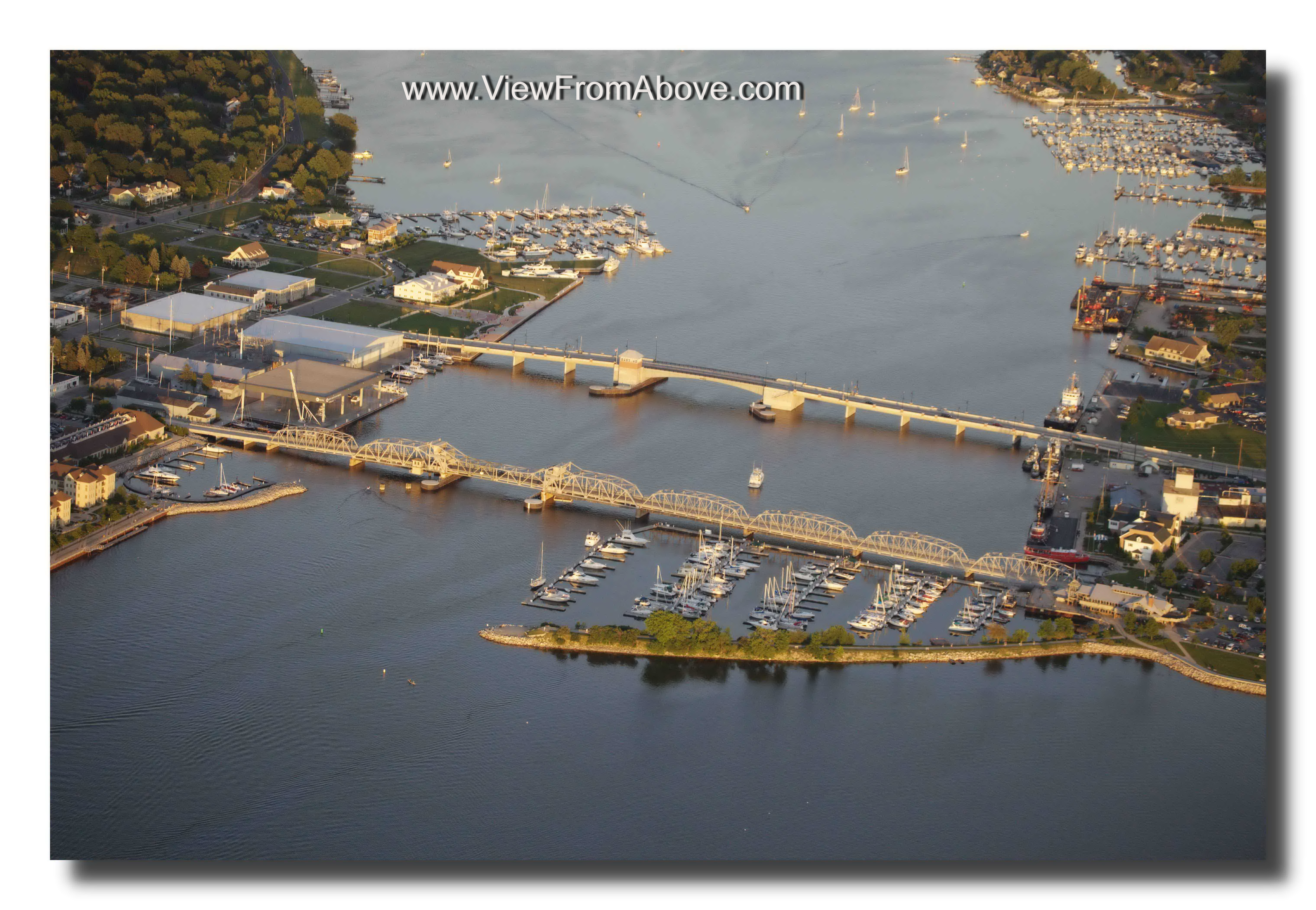 Sturgeon Bay, Wisconsin, Aerial Photography
